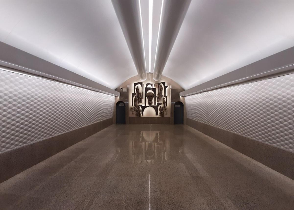 Открылась станция метро