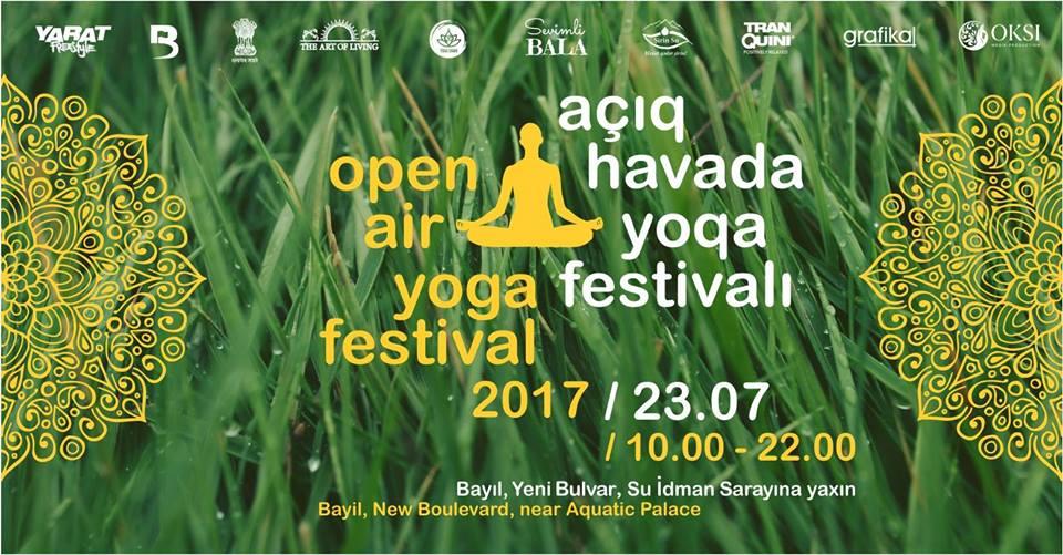 Фестиваль йоги на открытом воздухе