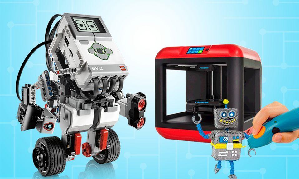 Робототехнологии и 3D-принтинг на каникулах