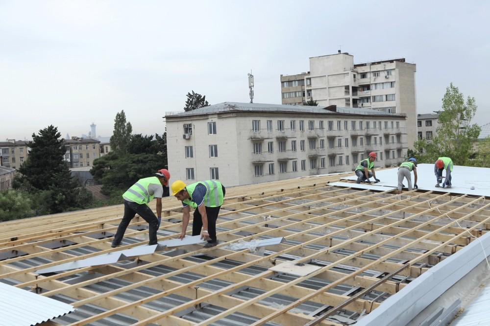 В 13 бакинских школах проводится капитальный ремонт