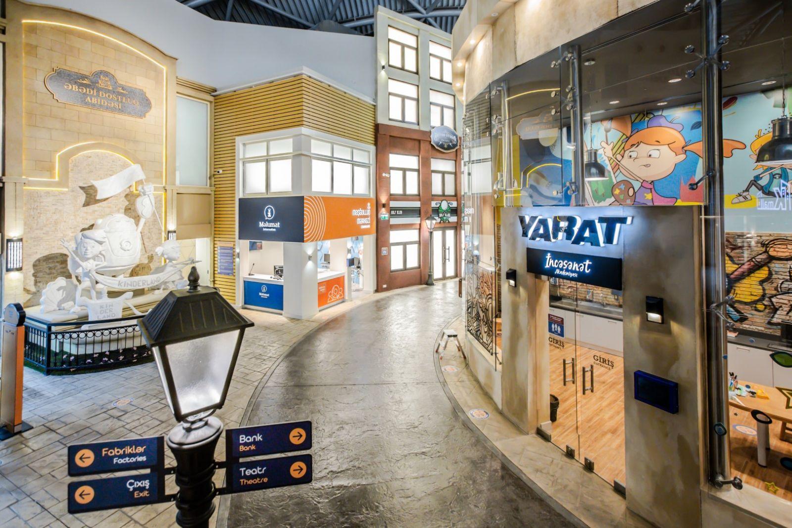 В Баку открылся город профессий для детей