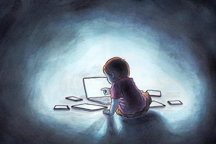 Вред гаджетов: почему у детей возникает компьютерная зависимость