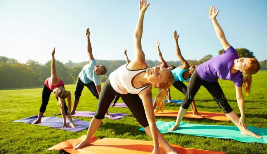 Мероприятие к Международному дню йоги
