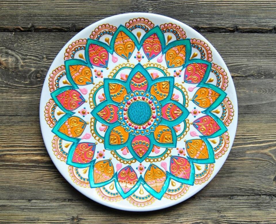 Мастер-класс  «Роспись по керамике»