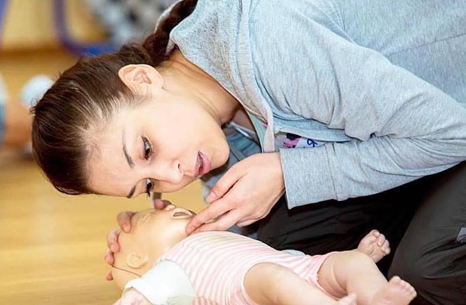 Тренинг «Оказание первой помощи» в «Gymbala»