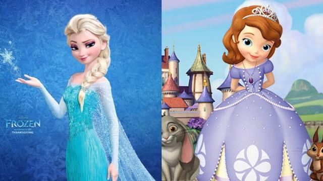 Детский бал с принцессами Диснея