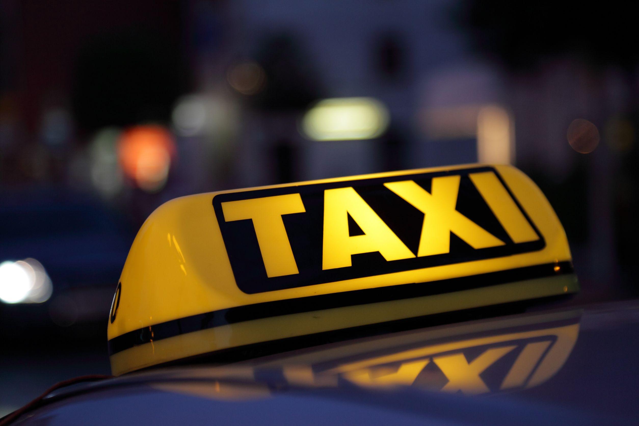 Услуги такси на личных автомобилях будут приостановлены