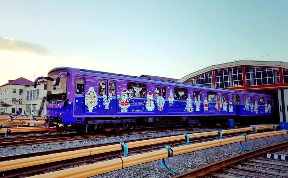 В Бакинском метро пройдут новогодние мероприятия
