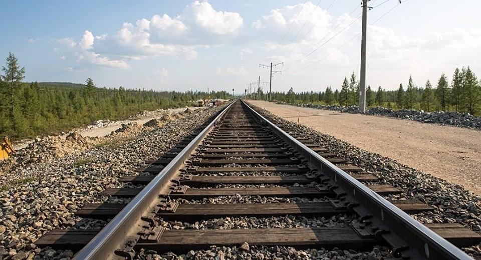В Агдаме строится новая железная дорога