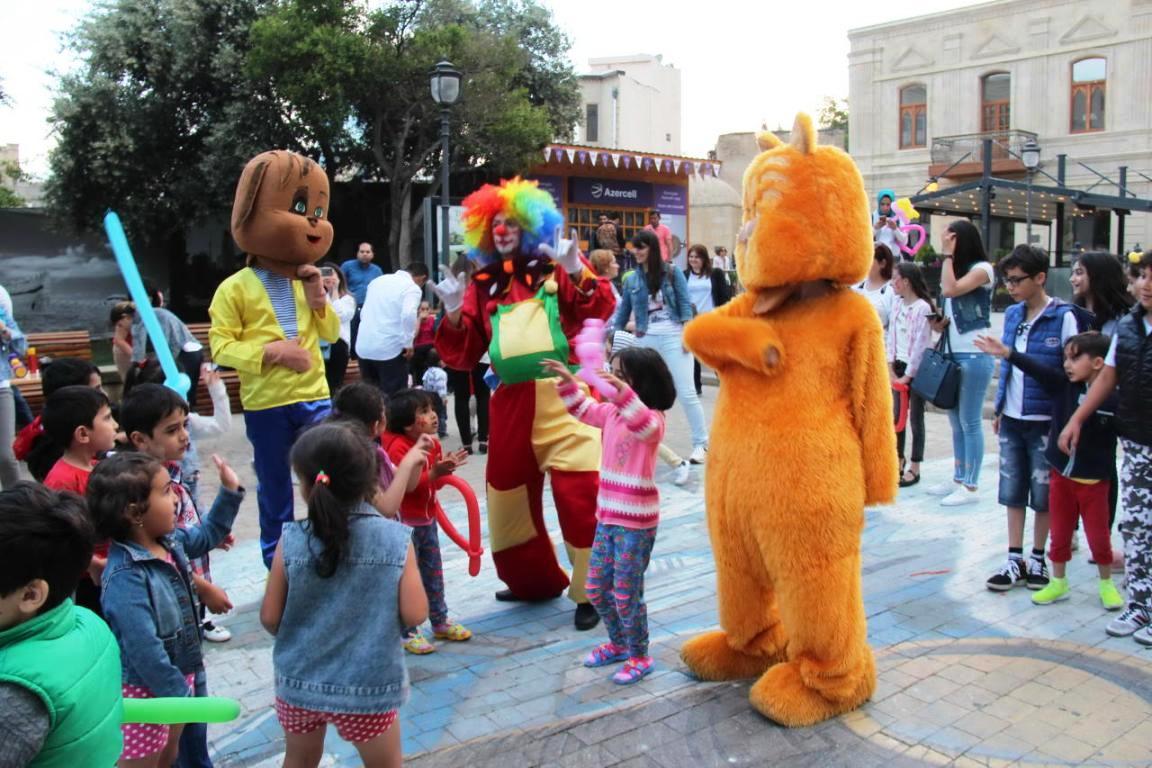 Праздничное мероприятие для детей в «Ичеришехер»
